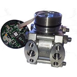 Емкостной сенсор давления в корпусе с платой
