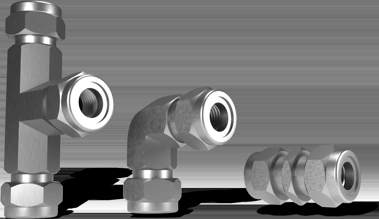 Фитинги для соединения труб (муфты)