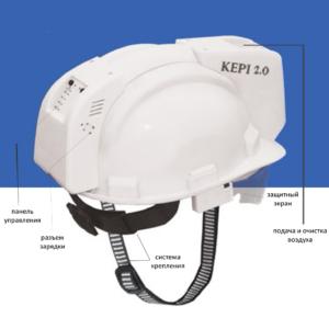 Защитная каска Kepi 2.0 с описанием