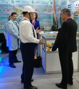 Инновационная защитная каска - новинка Иннопром-2019