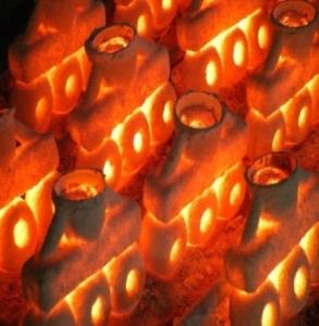 Высокоточное литье из нержавеющей стали. Подготовка керамических форм.
