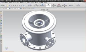 Высокоточное литье из нержавеющей стали. 3D-моделирование.