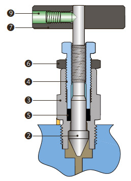 Вентиль под манометр - спецификация 2