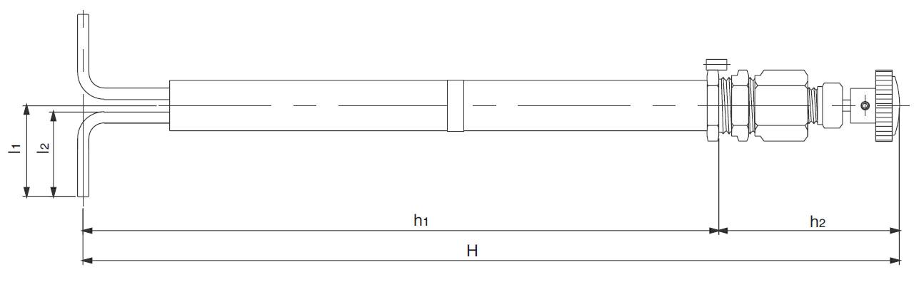 Редуцирующий вентиль VPR - Габариты