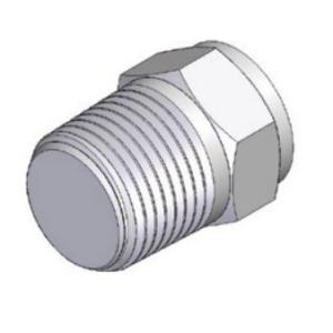 Заглушка с наружной резьбой PPG