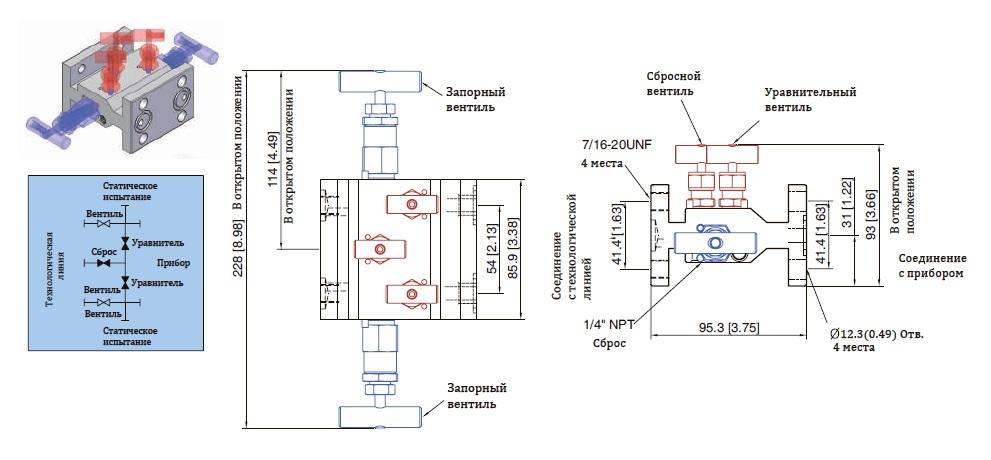 Манифольды-Unilok-VMFLD5-схема
