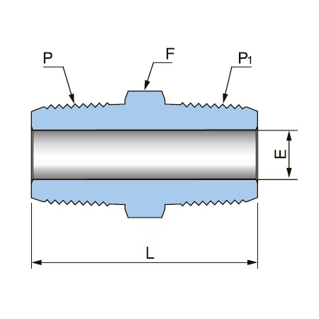 Соединение PHN - ISO 7/1